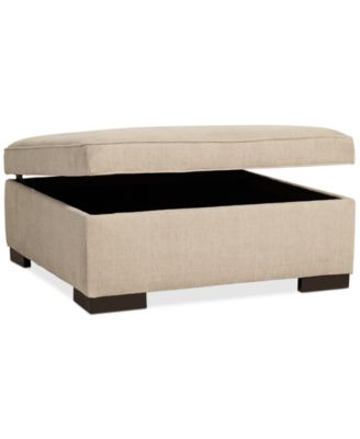 Radley Fabric Storage Ottoman Created for Macyu0027s  sc 1 st  Macyu0027s : macys radley sectional - Sectionals, Sofas & Couches