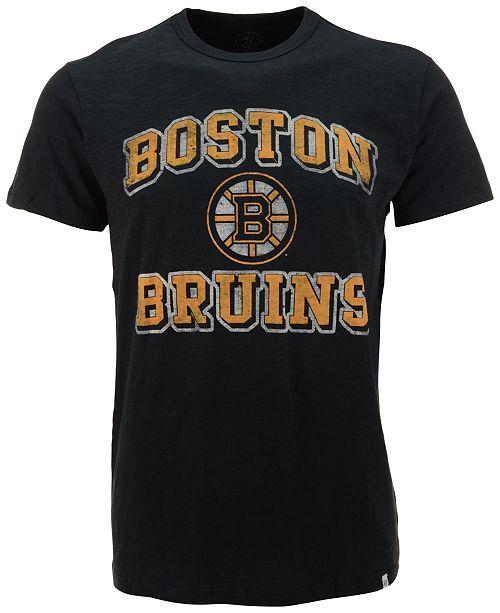 '47 Brand Men's Short-Sleeve Boston Bruins Scrum T-Shirt