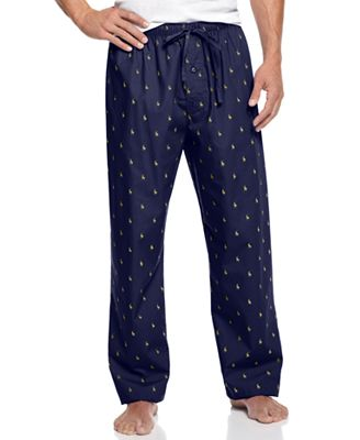 Polo Ralph Lauren Big and Tall Men's Polo Player Pajama Pants ...
