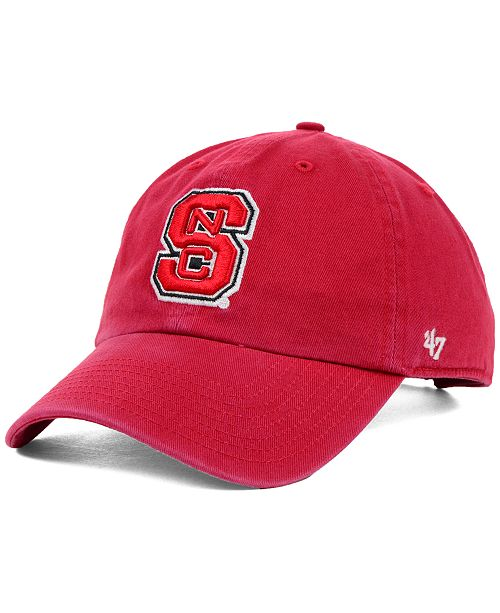 '47 Brand North Carolina State Wolfpack NCAA Clean-Up Cap
