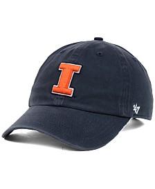 '47 Brand Illinois Fighting Illini NCAA Clean-Up Cap