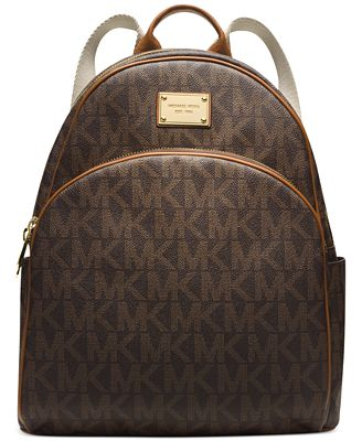 michael michael kors signature large backpack handbags accessories macy 39 s. Black Bedroom Furniture Sets. Home Design Ideas