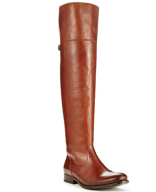 f3c91e29d55 Frye Women s Melissa Over The Knee Boots   Reviews - Boots - Shoes ...