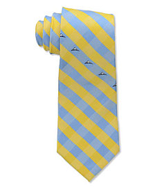 Eagles Wings Denver Nuggets Checked Tie
