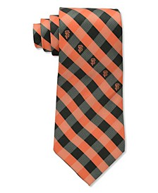 San Francisco Giants Checked Tie