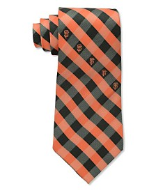 Eagles Wings San Francisco Giants Checked Tie