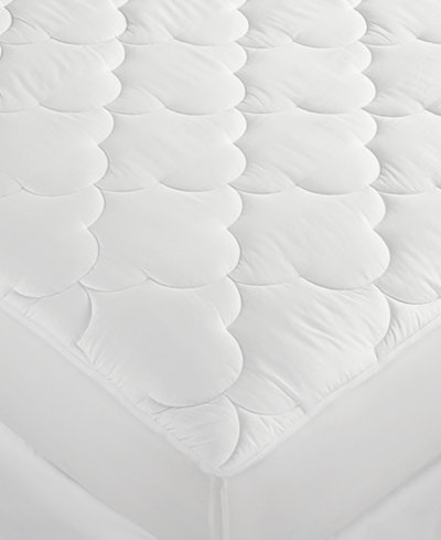 CLOSEOUT! Charter Club Premium Comfort Level 1 Twin Mattress Pad, Down Alternative Hypoallergenic Fill, 100% Cotton Cover Only at Macy's