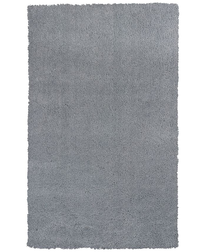 Kas - Bliss Shag 1557 Grey Area Rugs