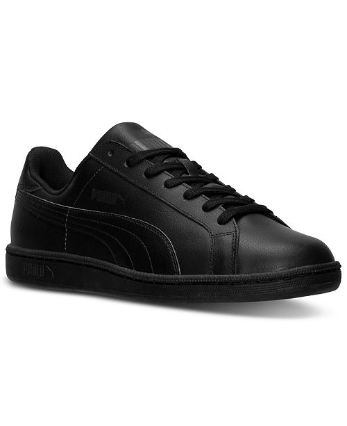 884df01a2560 Puma Men s Smash Leather Casual Sneakers from Finish Line - Finish ...