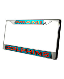 Rico Industries Miami Dolphins License Plate Frame
