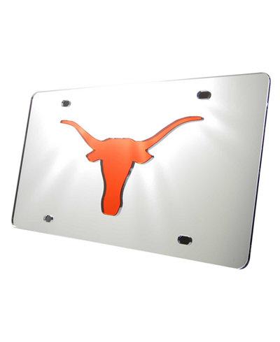 Stockdale Texas Longhorns Laser Tag License Plate