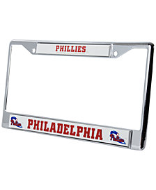 Rico Industries Philadelphia Phillies Chrome License Plate Frame