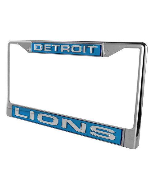 Rico Industries Detroit Lions License Plate Frame