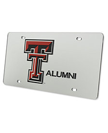 Stockdale Texas Tech Red Raiders Laser Tag License Plate