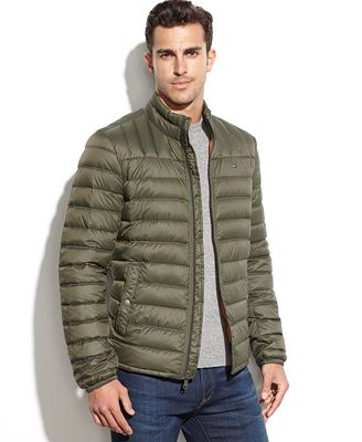 tommy hilfiger quilted packable down puffer. Black Bedroom Furniture Sets. Home Design Ideas