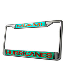 Stockdale Miami Hurricanes License Plate Frame