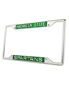 Michigan State Spartans Laser License Plate Frame