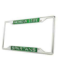 Stockdale Michigan State Spartans Laser License Plate Frame
