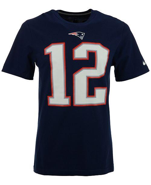 86141076 Men's Tom Brady New England Patriots Pride T-Shirt