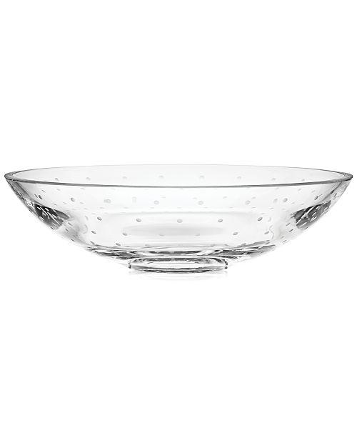 kate spade new york Larabee Dot Large Low Centerpiece Bowl