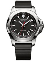 614dd7dbf86 Victorinox Swiss Army Men s I.N.O.X. Black Rubber Strap Watch 43mm 241682.1