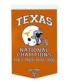 Winning Streak Texas Longhorns Dynasty Banner