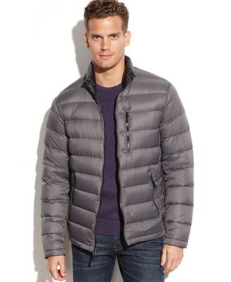 Calvin Klein Packable Down Jacket - Coats & Jackets - Men - Macy's
