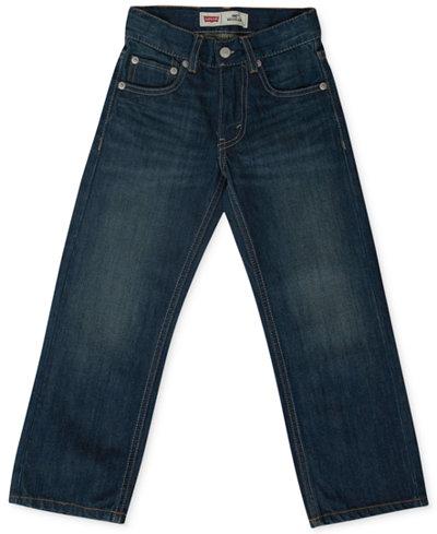 Levi's� Little Boys' Slim 505 Regular Fit Jeans