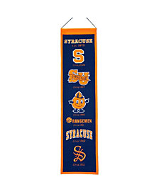 Winning Streak Syracuse Orange Heritage Banner