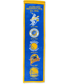 Winning Streak Golden State Warriors Heritage Banner