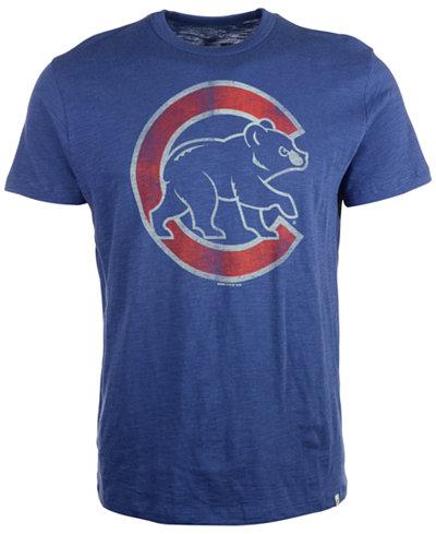 '47 Brand Men's Short-Sleeve Chicago Cubs Scrum T-Shirt