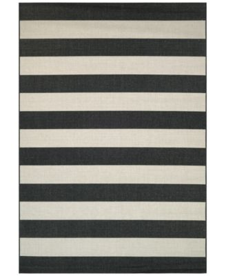 "Indoor/Outdoor Afuera Yacht Club 3'11"" x 5'7"" Area Rug"