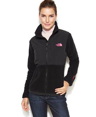 The North Face Pink Ribbon Denali Fleece Jacket - Jackets - Women ...