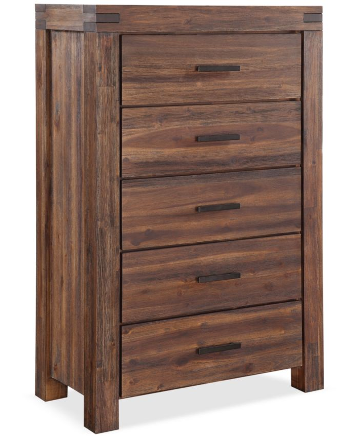 Furniture Avondale Queen 3-Pc. Platform Bedroom Set (Bed, Nightstand & Chest) & Reviews - Furniture - Macy's