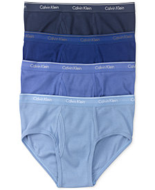 Calvin Klein Men's Classic Briefs 4-Pack U4000