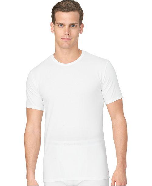 ab9295f2c3282 Calvin Klein Men s Cotton Stretch Crew Neck Undershirt 2-Pack ...