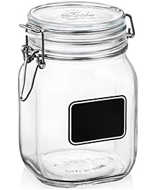 Fido Chalk Label Large Jar, 33.75 oz.