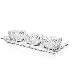 Godinger Dublin 4-Piece Server Set
