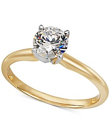 Solitaire Diamond Engagement Ring in 14k Gold (1 ct. t.w.)