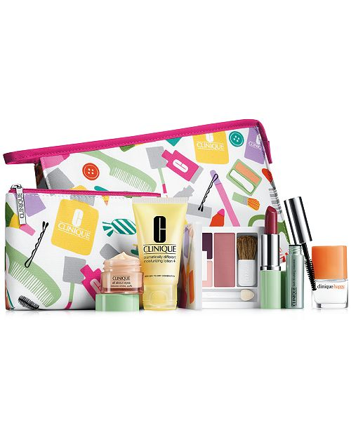 ... Clinique Receive a FREE 8-Pc. Gift with $27 Clinique purchase ...