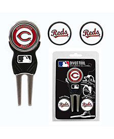 Team Golf Cincinnati Reds Divot Tool and Markers Set