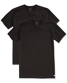 Calvin Klein Men's Big & Tall Cotton Classics Crew Neck 2-pack