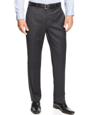 Mens Flannel Dress Pants B2WUs75r