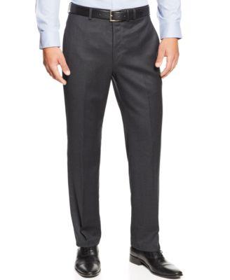 Mens Flannel Dress Pants B2WUs75r