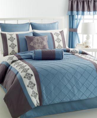 Brooks 24 Piece King Comforter Set