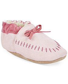 Robeez Cozy Moccasin Shoes, Baby Girls