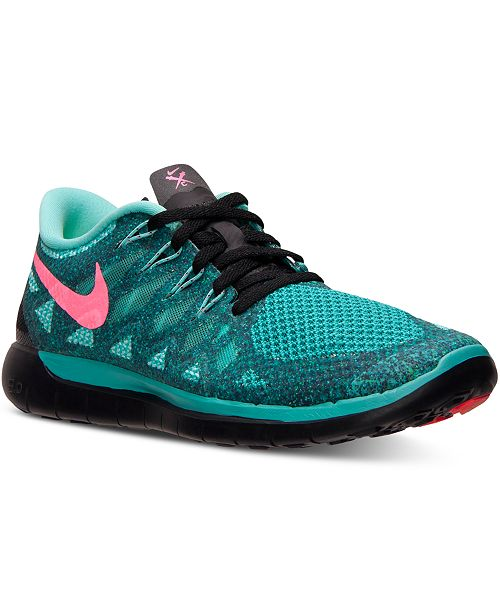 4e8e46a15c8f2 Nike Women s Free 5.0 2014 Running Sneakers from Finish Line ...