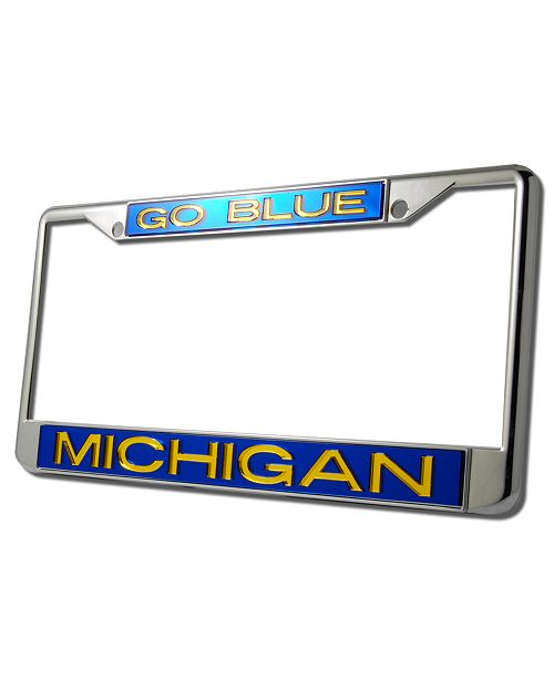 Stockdale Michigan Wolverines License Plate Frame