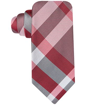 Ryan Seacrest Distinction Exploded Plaid Slim Tie