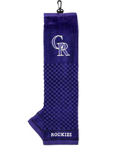 Team Golf Colorado Rockies Trifold Golf Towel